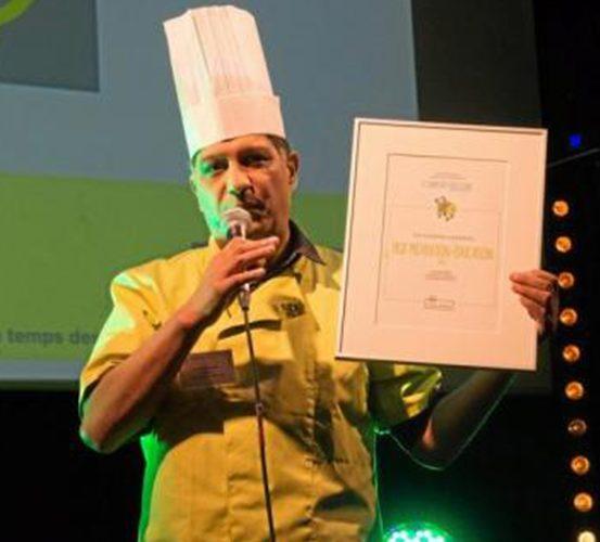 Les cuisiniers solidaires primés à Paris