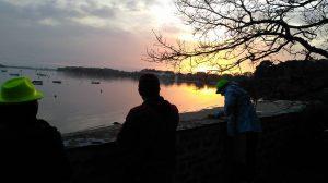 Coucher du soleil à Penboch
