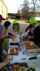 Les Cuisiniers solidaires au centre spirituel à Penboch