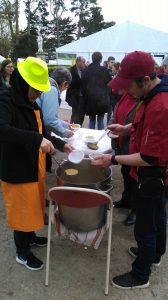 Soupe partagée au centre spirituel à Penboch